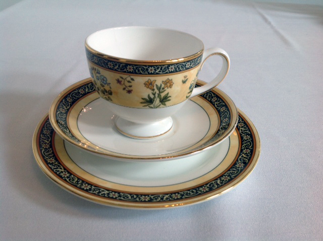 vintage china crockery - catering equipment hire