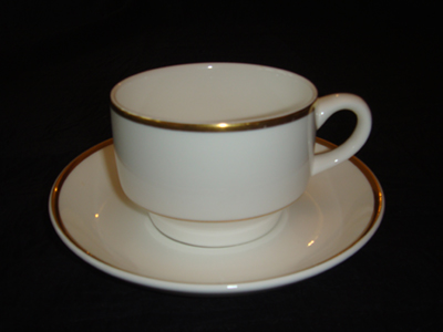 WEDGEWOOD BONE CHINA - CUP AND SAUCER