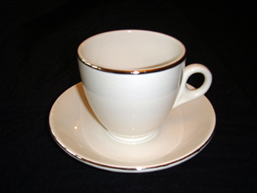 ROYAL FALCONITE CHINA - CUP AND SAUCER